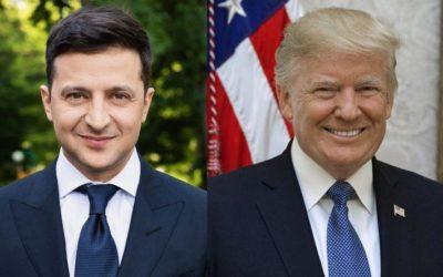 Зеленский поблагодарил Трампа за санкции против РФ