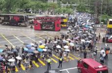 МИД посоветовал россиянам избегать мест массовых протестов в Гонконге