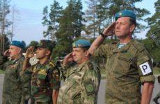 Под Рязанью прошли учения десантников России, Белоруссии и Египта