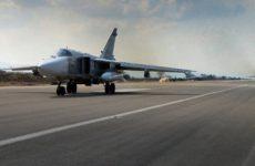 ПВО базы «Хмеймим» в Сирии пытается отразить атаку беспилотников