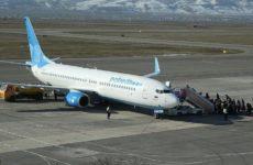 В Армении совершил жесткую посадку самолет российской компании