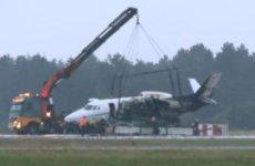 В Дании во время посадки загорелся самолет с командой певицы Pink