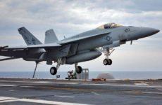 В Калифорнии потерпел крушение истребитель ВМС США