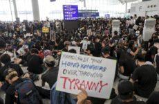 В Пекине назвали имена организаторов протестов в Гонконге