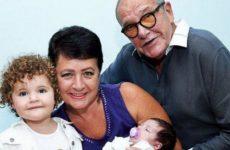 79-летний Эммануил Виторган в четвертый раз стал отцом