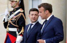 Макрон и Зеленский по телефону обсудили G7 и ситуацию в Донбассе