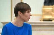 Президент Эстонии заявила об усталости от Украины