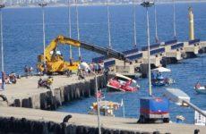 В Турции затопило яхту с российскими туристами на борту