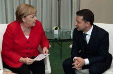 Зеленский и Меркель провели встречу на полях ГА ООН