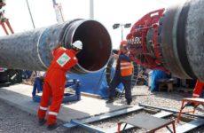 Зеленский считает строительство «Северного потока — 2» снятием санкций с России