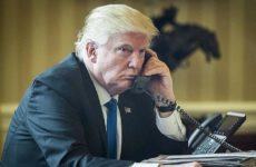 Белый дом засекретил разговоры Трампа с Путиным