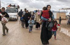 Более 1,2 тысячи беженцев вернулись в Сирию из Ливана и Иордании за сутки