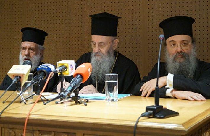 """Два греческих митрополита заявили, что не признают """"новую церковь"""" Украины 1"""