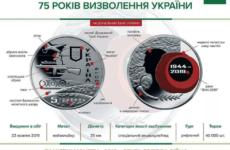 На Украине к юбилею освобождения от нацистов выпустили монету с бандеровцем