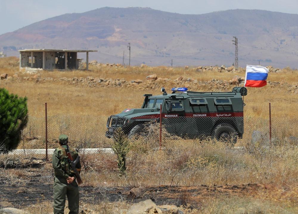 Российская военная полиция прибыла к сирийско-турецкой границе 1