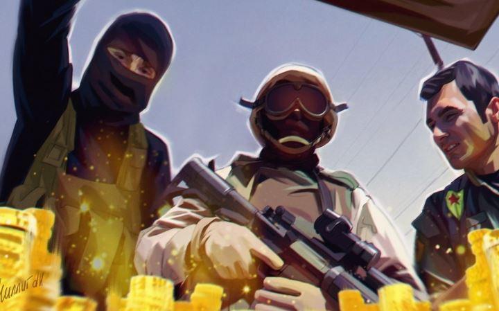 Штаты используют курдов-оккупантов нефтяных полей, чтобы обескровить Сирию — эксперт 1