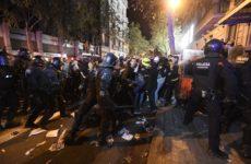 В протестующей Барселоне могут находиться около тысячи россиян