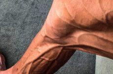 Велосипедист показал вид своих ног после многокилометровой гонки