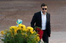 Зеленский пропустил акции памяти в Бабьем Яре, но приехал туда в частном порядке