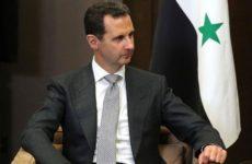 Асад считает, что США теряют свою гегемонию и готовы бороться со всеми