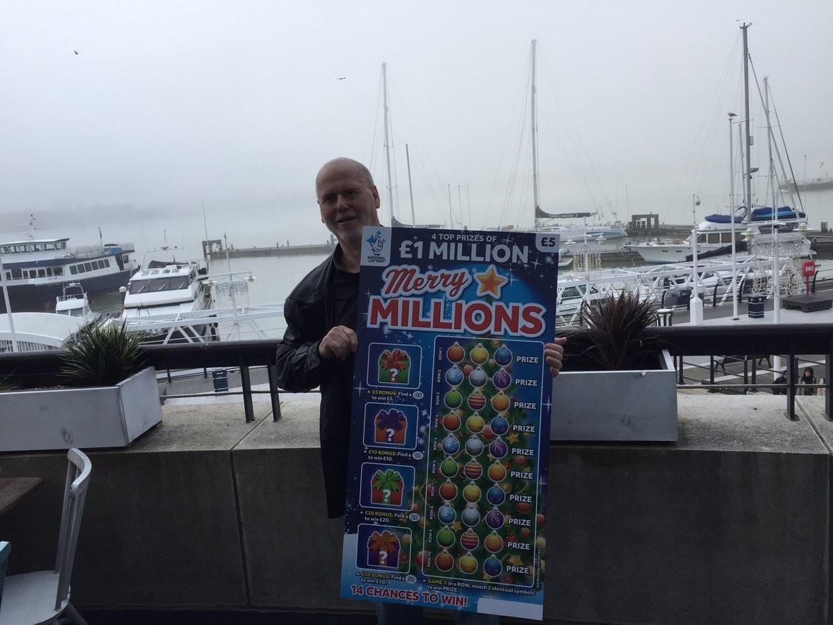Британец сорвал джекпот в лотерее, пытаясь развлечь больную жену 1