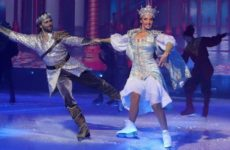 Муж Заворотнюк смог спасти Навку от серьезной травмы на шоу в Петербурге
