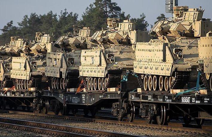 Представители Минска и Вашингтона обсудили размещение американских войск у границ Белоруссии 1