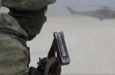 Российские военные высадились на бывшей базе американцев в Сирии