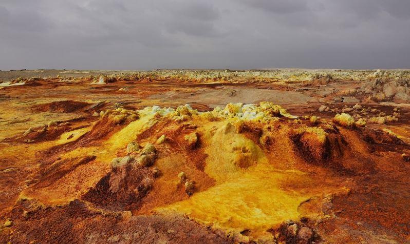 Самое безжизненное место на Земле нашли ученые из Франции 1