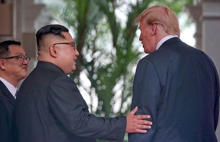 Трамп заявил о скорой встрече с Ким Чен Ыном 1
