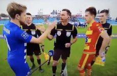 Украинский футболист отомстил бандеровцу, который назвал его поляком