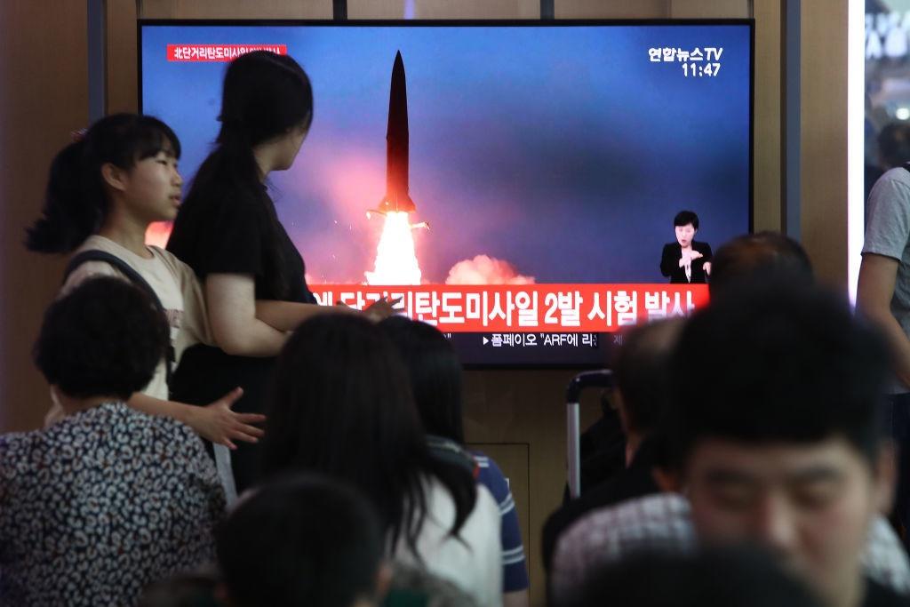 В Южной Корее сообщили о пуске КНДР неизвестного снаряда 1