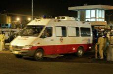 В Каире опора линии электропередачи упала на людей