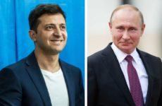 В Кремле не исключили вероятность отдельной встречи Путина и Зеленского в Париже