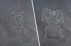 В Перу нашли древние рисунки гигантских монстров
