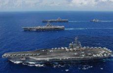 Военный эксперт сообщил, как уничтожить одним ударом все авианосцы США