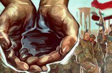Ворующие нефть под прикрытием курдских террористов США занимаются пиратством в Сирии
