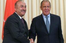 Главы МИД России и Турции провели переговоры по телефону