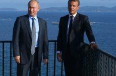 Предложение Путина по РСМД в Европе привлекло Макрона