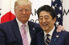 Трамп обсудил с премьером Японии ситуацию вокруг КНДР и Ирана