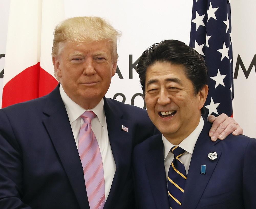 Трамп обсудил с премьером Японии ситуацию вокруг КНДР и Ирана 1
