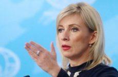 Захарова прокомментировала введенные санкции против «Северного потока – 2»