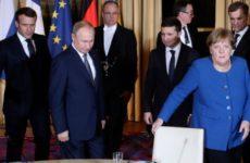 Зеленский опозорился перед Путиным в Париже