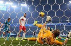 «Зенит» победил «Спартак» на своем поле в матче чемпионата России по футболу