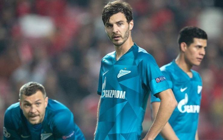 «Зенит» проиграл в матче с «Бенфикой» и покинул Лигу чемпионов 1