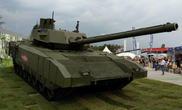 Daily Mail посчитала танк Т-14 «Армата» идеальным 1