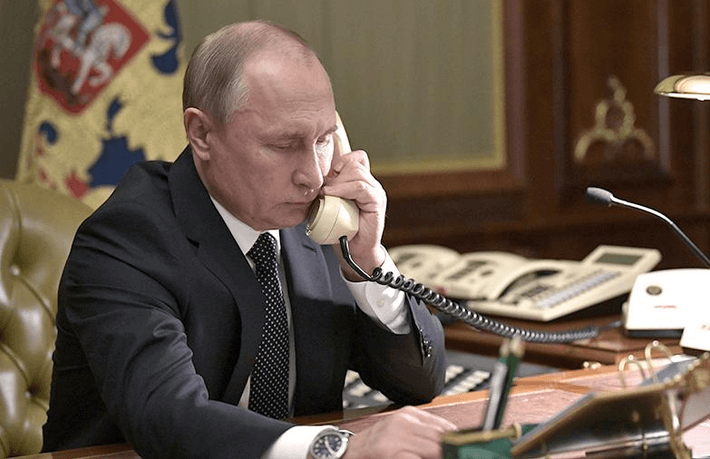 Лидеры РФ и США провели телефонные переговоры 1