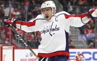 Овечкин вошел в тройку лучших игроков десятилетия НХЛ