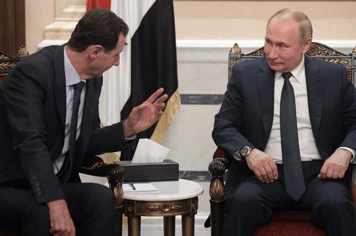 Путин предложил Асаду позвать Трампа в Дамаск 1
