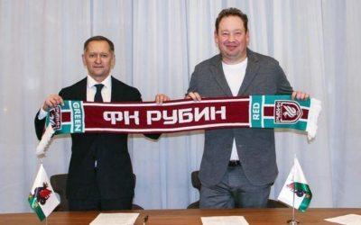 Слуцкий стал главным тренером ФК «Рубин»